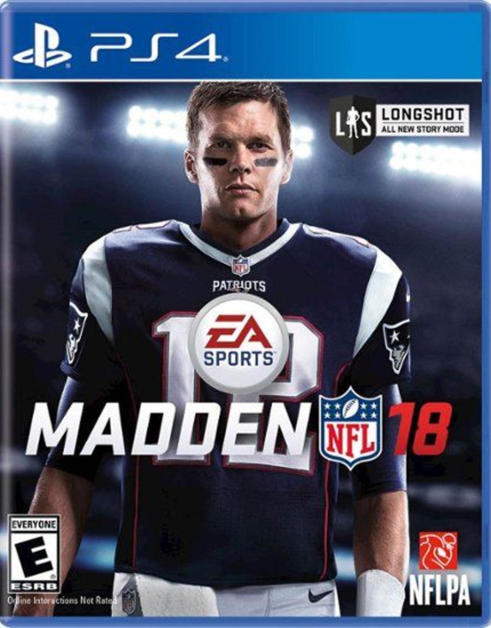 Madden 18 - PS4 PrePlayed
