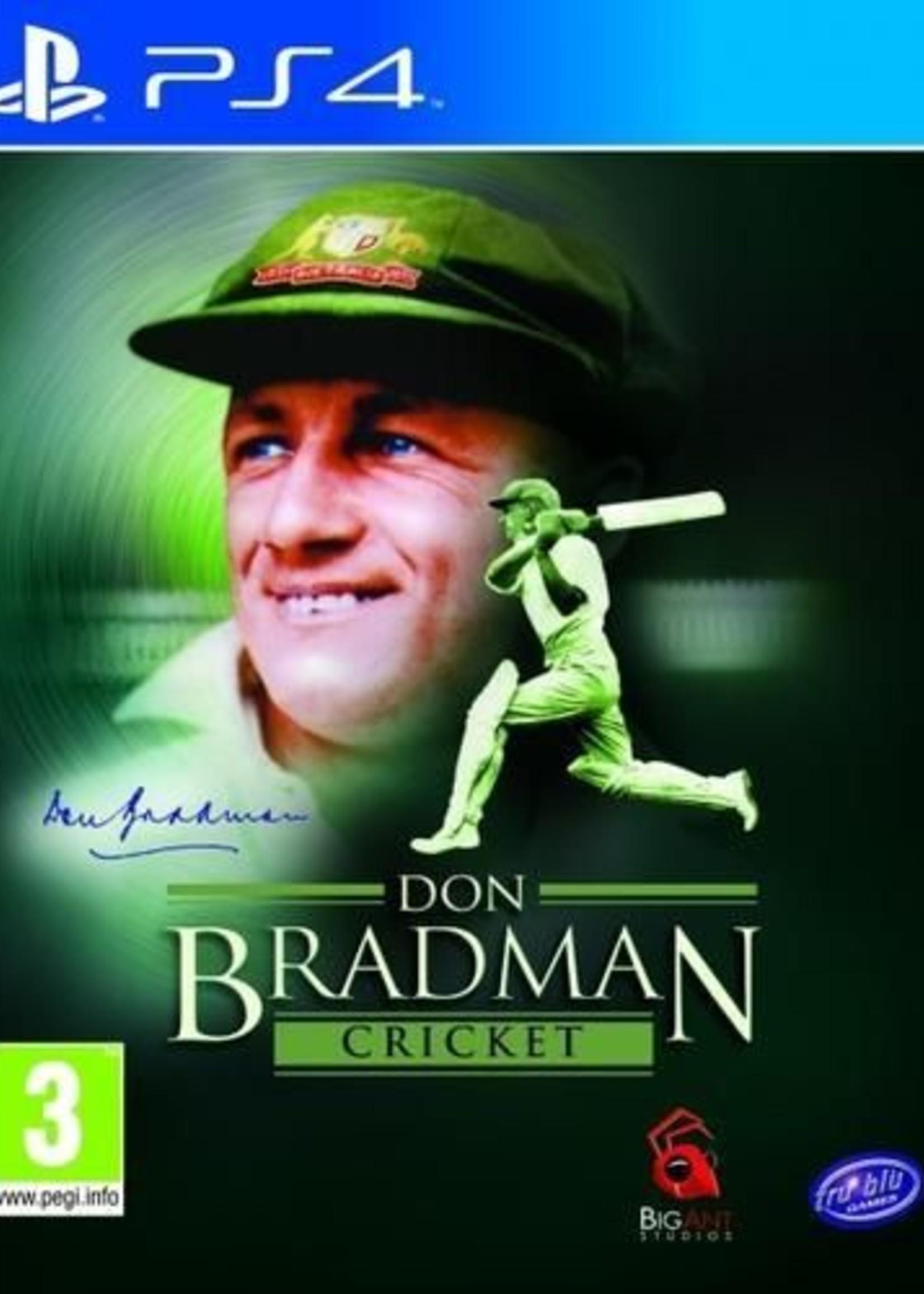 Don Bradman Cricket 2014 - PS4 PrePlayed