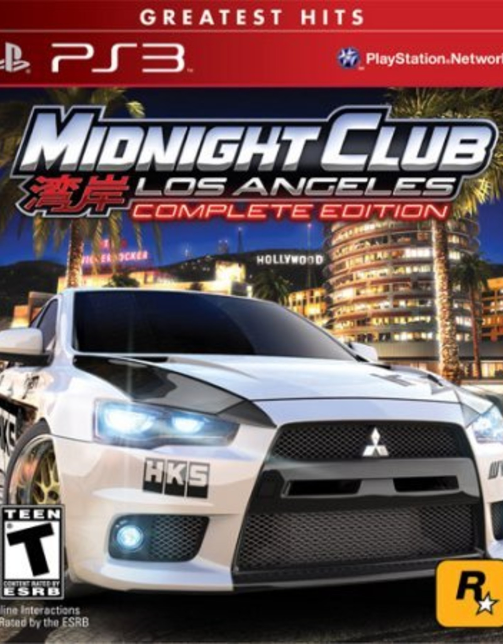 Midnight Club LA Complete - PS3 PrePlayed