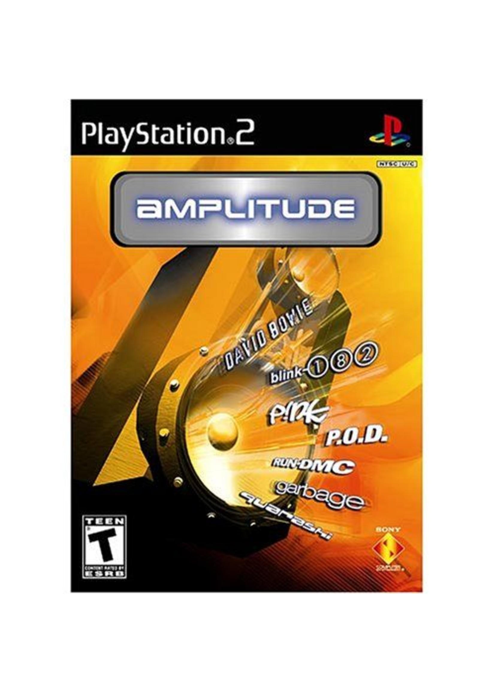 Amplitude - PS2 PrePlayed