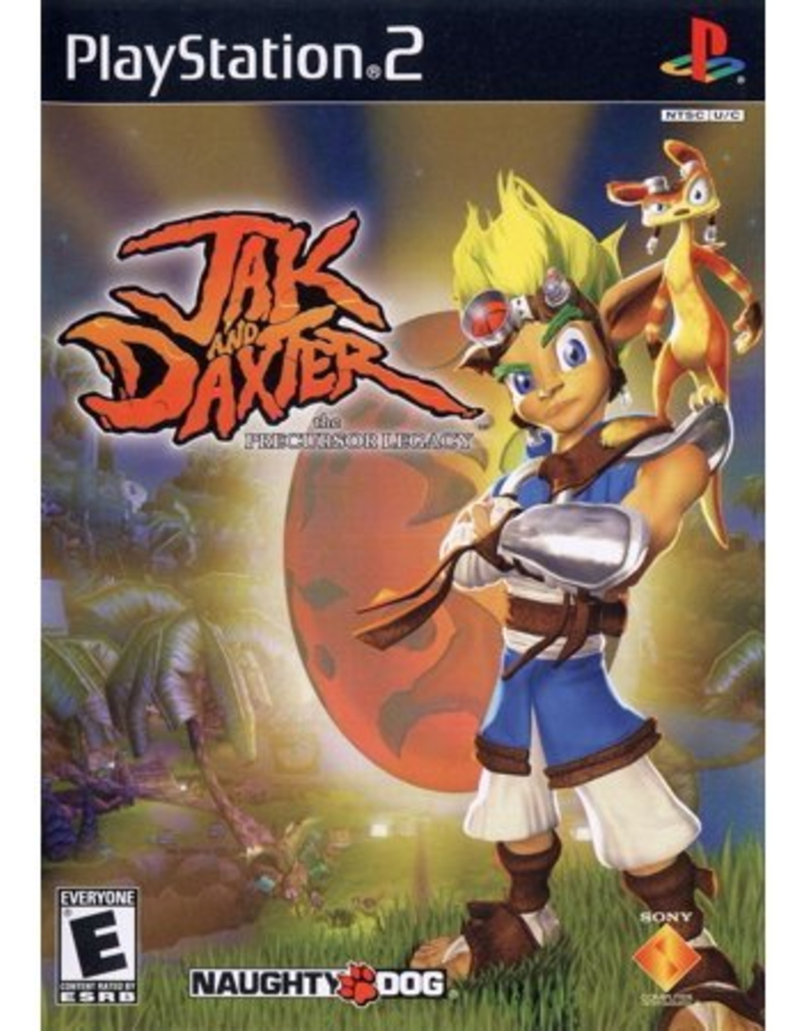 Jak and Daxter The Precursor Legacy - PS2 PrePlayed