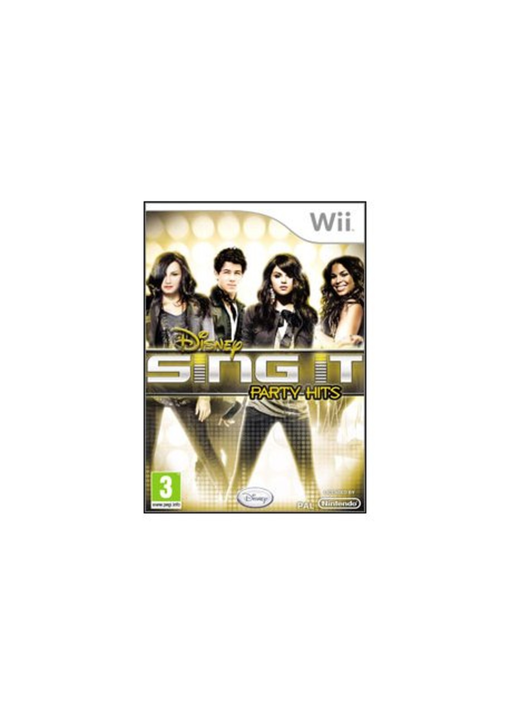 Disney Sing It Party Hits - WII PrePlayed