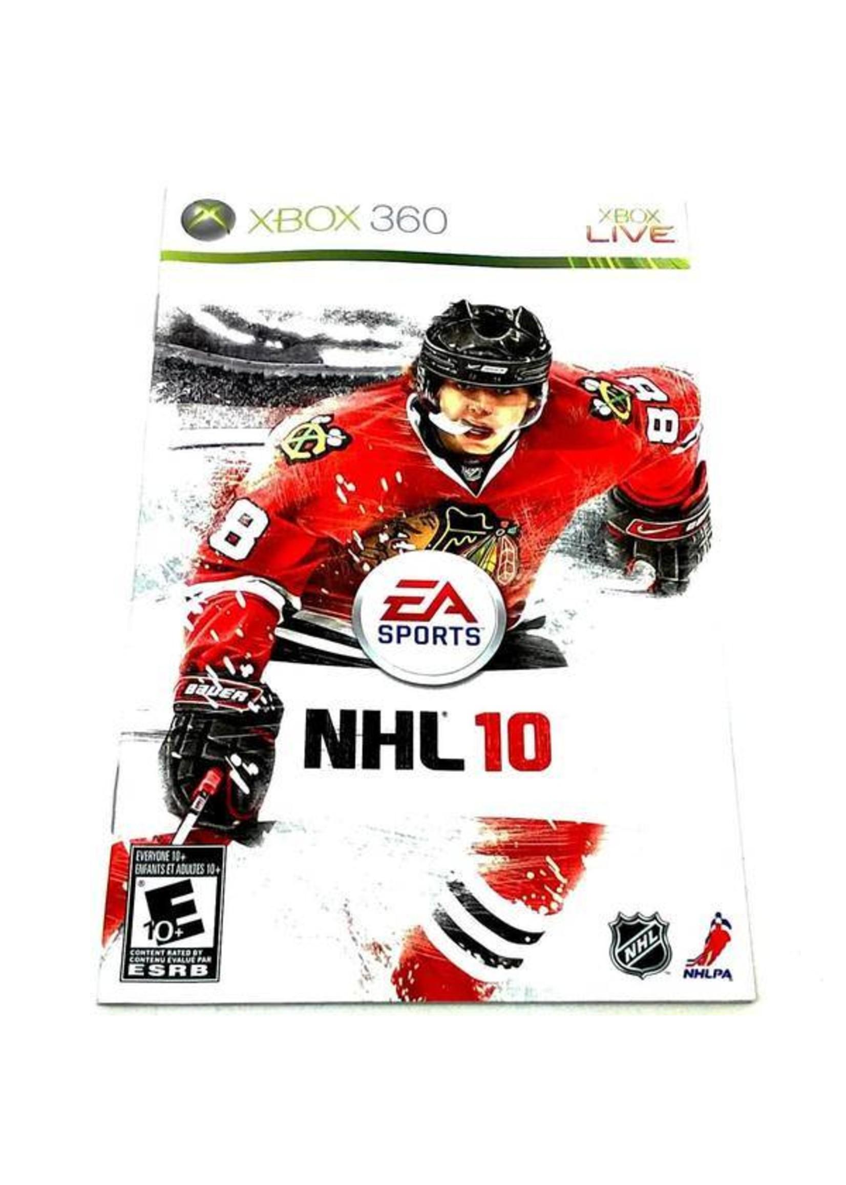 NHL 10 - XB360 PrePlayed