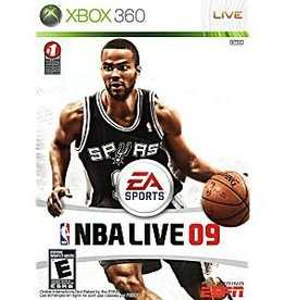 NBA Live 09 - XB360 PrePlayed