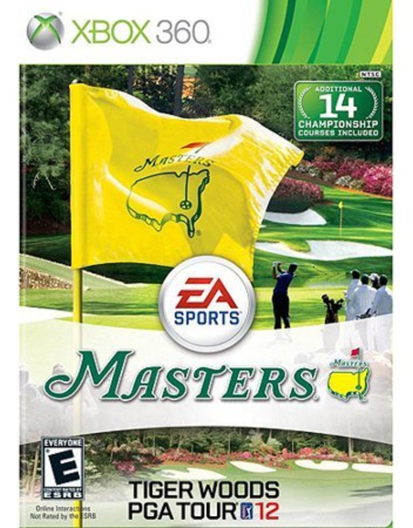 Masters Tiger Woods PGA Tour 12 - XB360 PrePlayed
