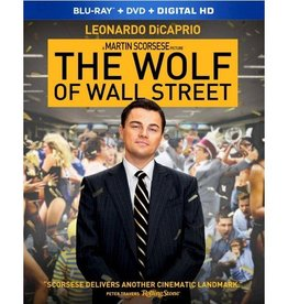 BluRay Movie The Wolf of Wall Street