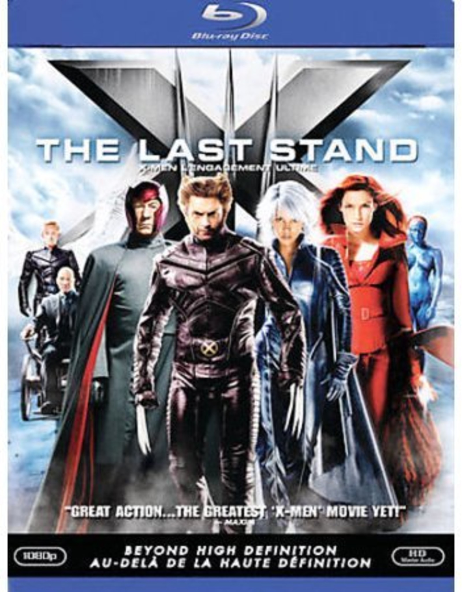 BluRay Movie X-Men The Last Stand