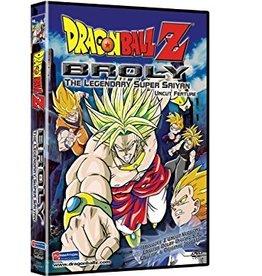 DVD Movie Dragonball Z Broly The Legendary Super Saiyan
