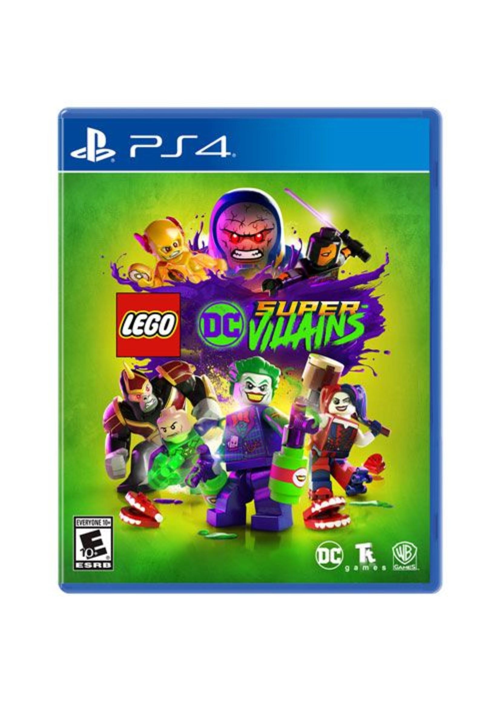 LEGO DC Super Villains - PS4 NEW