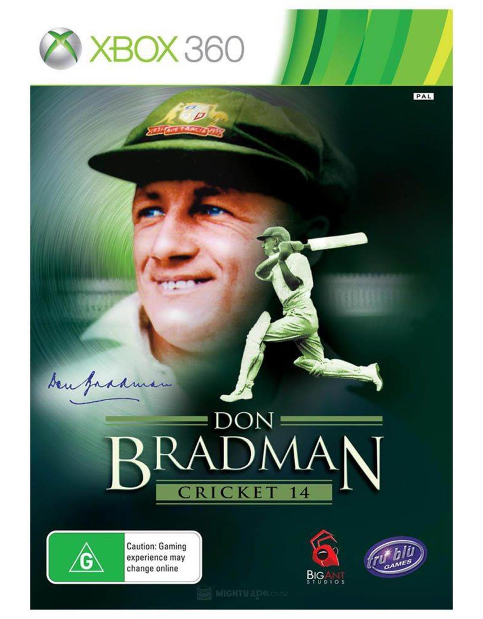 Don Bradman Cricket 14 - XB360 PrePlayed