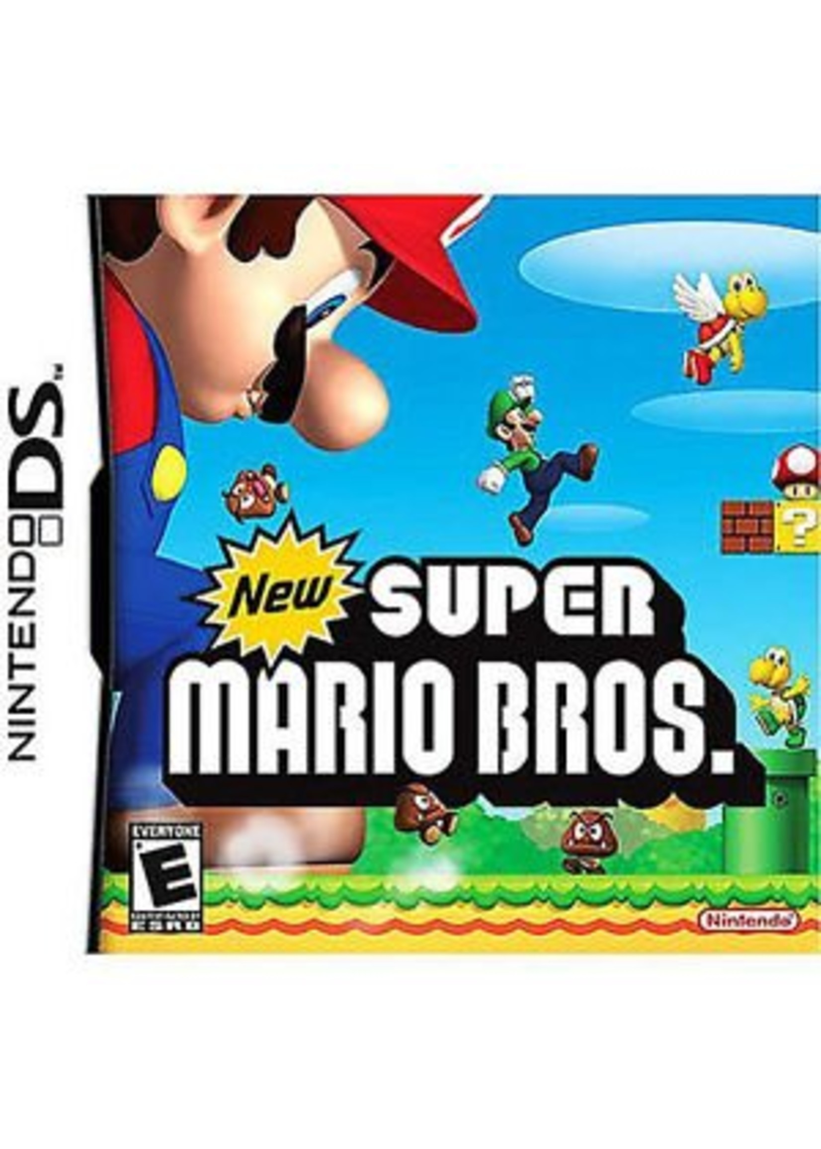 New Super Mario Bros - NDS PrePlayed
