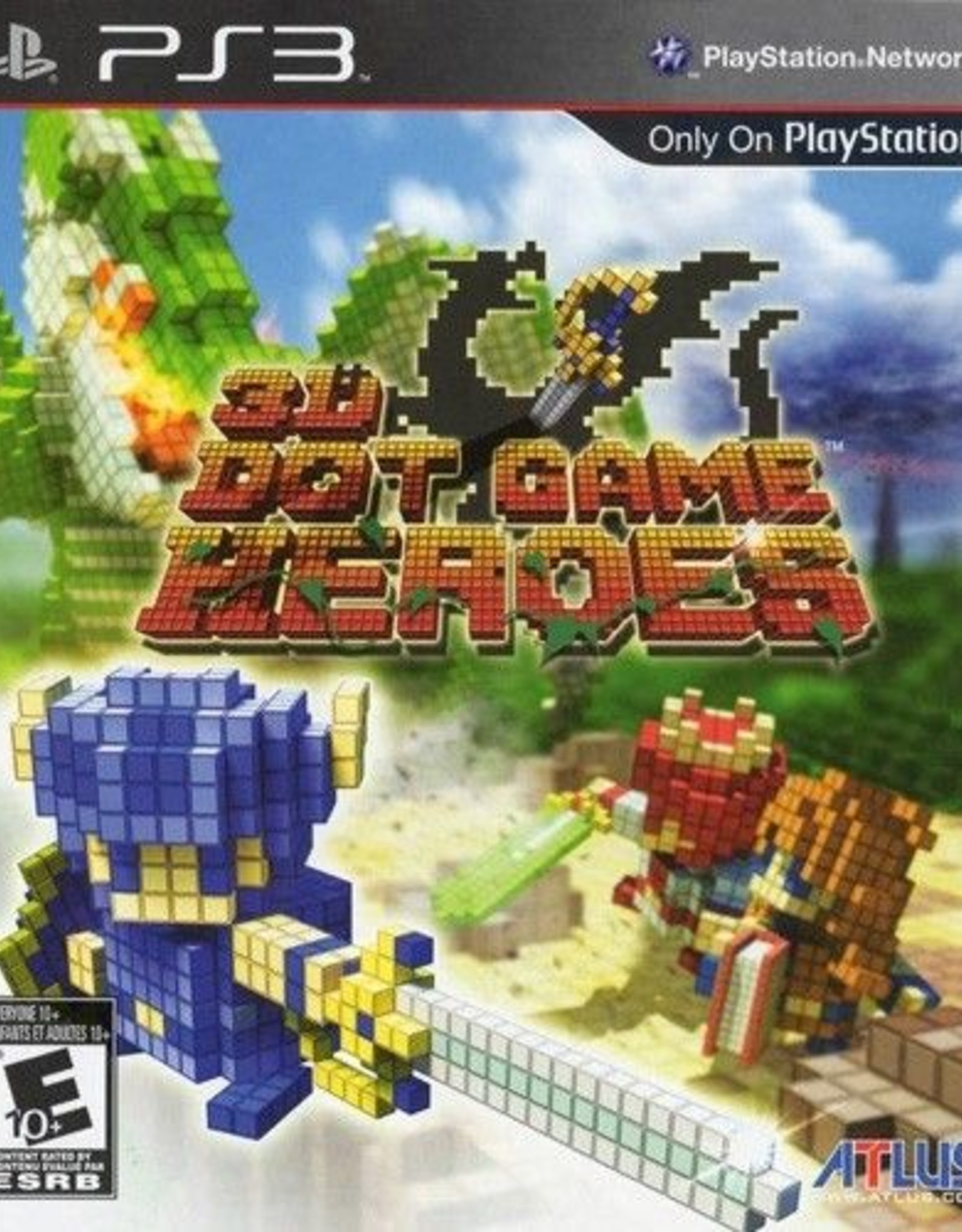 3D Dot Game Heroes - PS3 PrePlayed