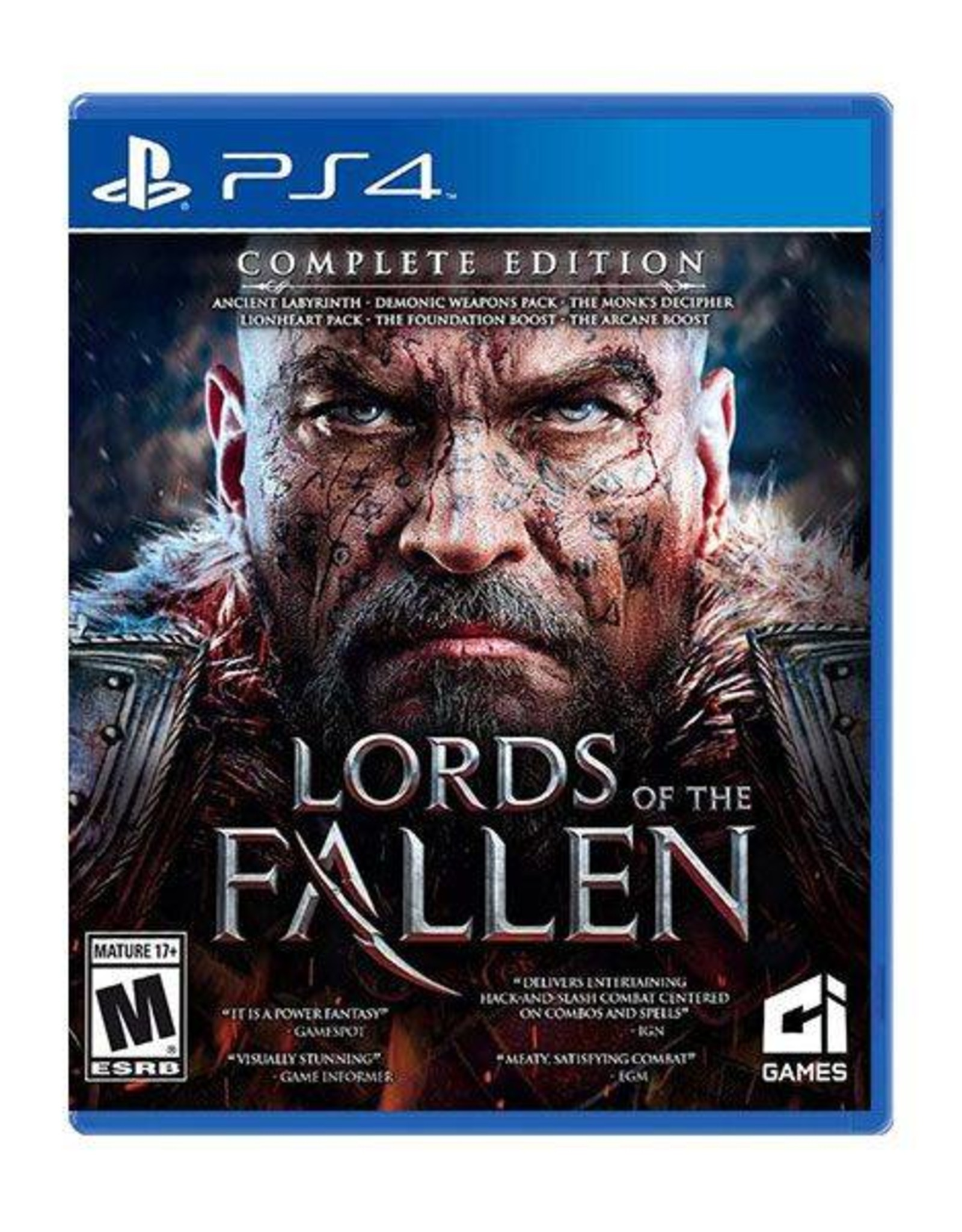 Lords of the Fallen - PS4 PrePlayed