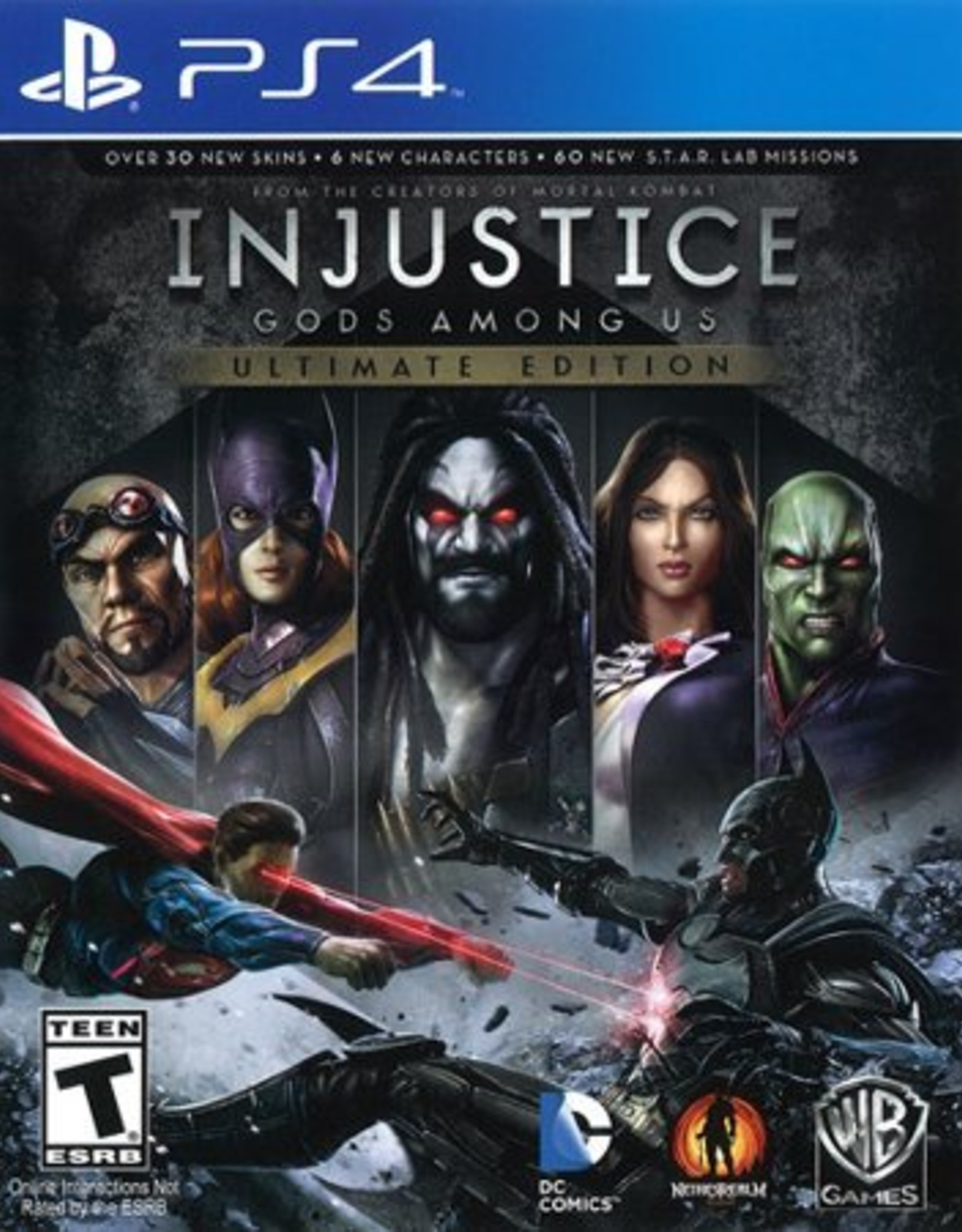Injustice: Gods Among Us Ultimate Edition - PS4 PrePlayed