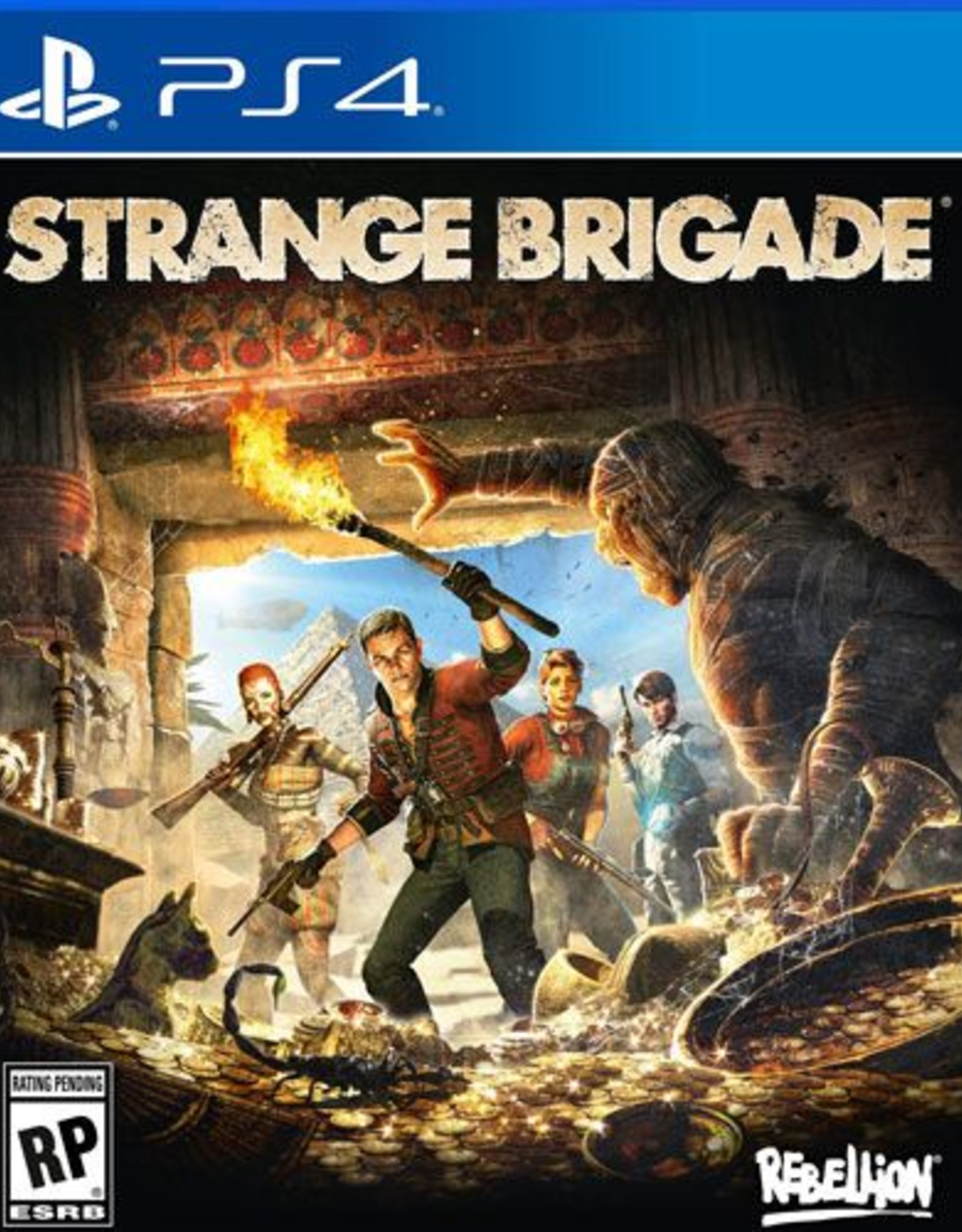 Strange Brigade- PS4 DIGITAL
