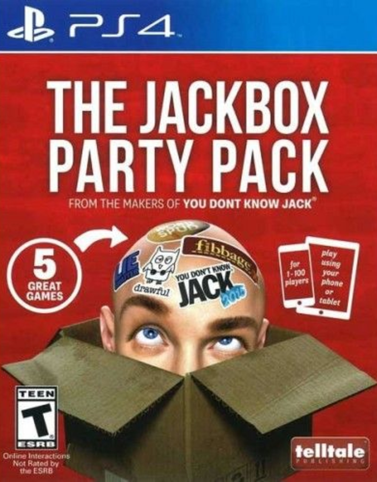 The Jackbox Party Pack 5-PS4 DIGITAL