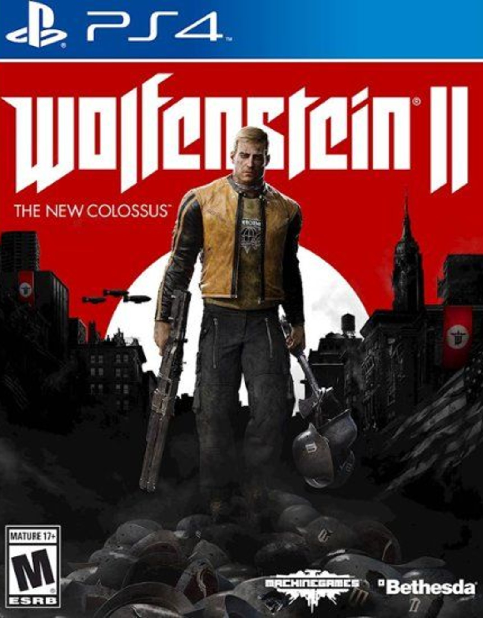 Wolfenstein II: The New Colossus -PS4 DIGITAL