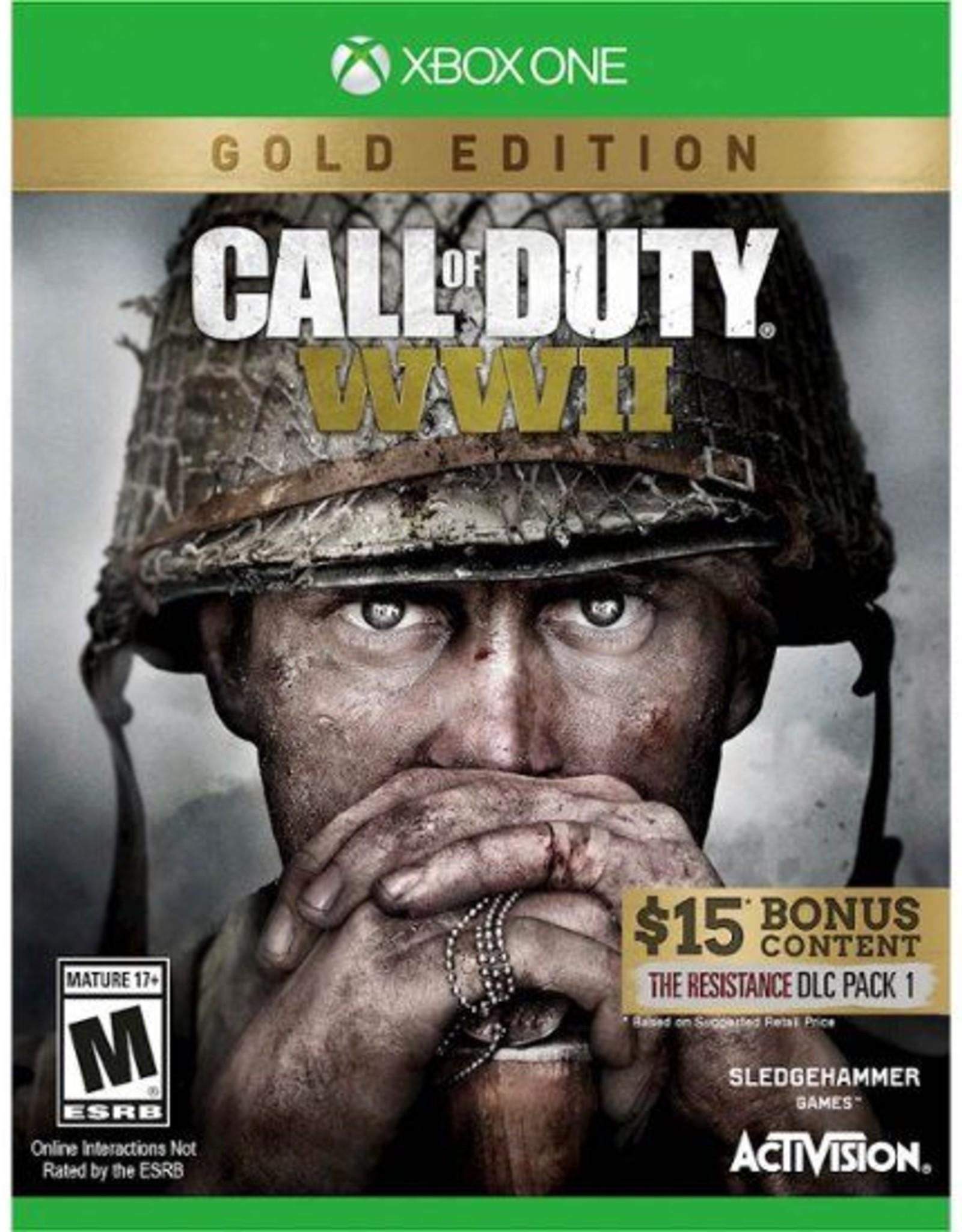 Call of Duty WWII- Gold Edition - XBOne DIGITAL