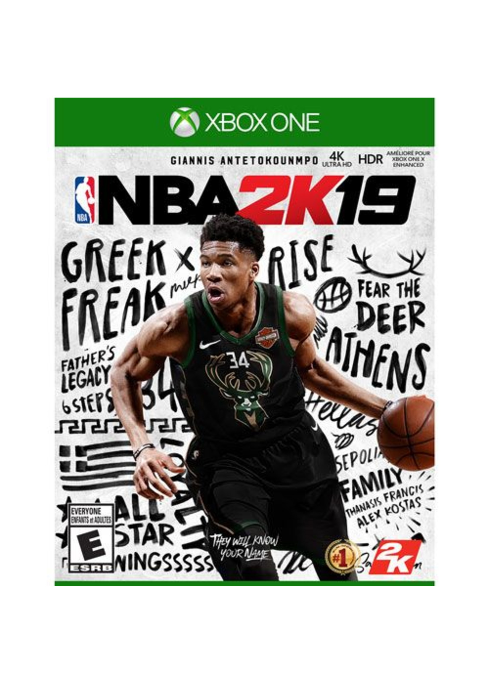 NBA 2K19 - XBOne NEW
