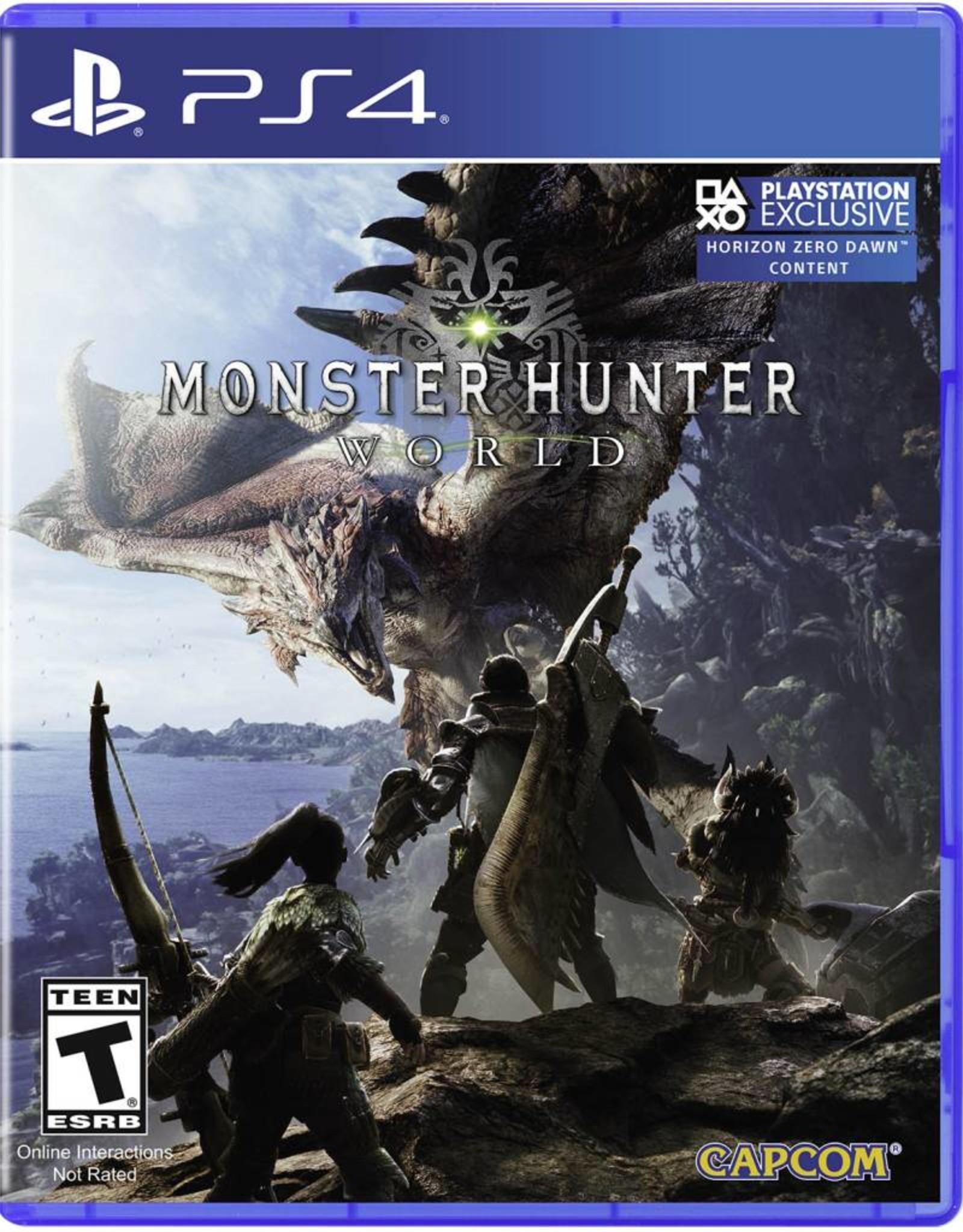 Monster Hunter World - PS4 NEW