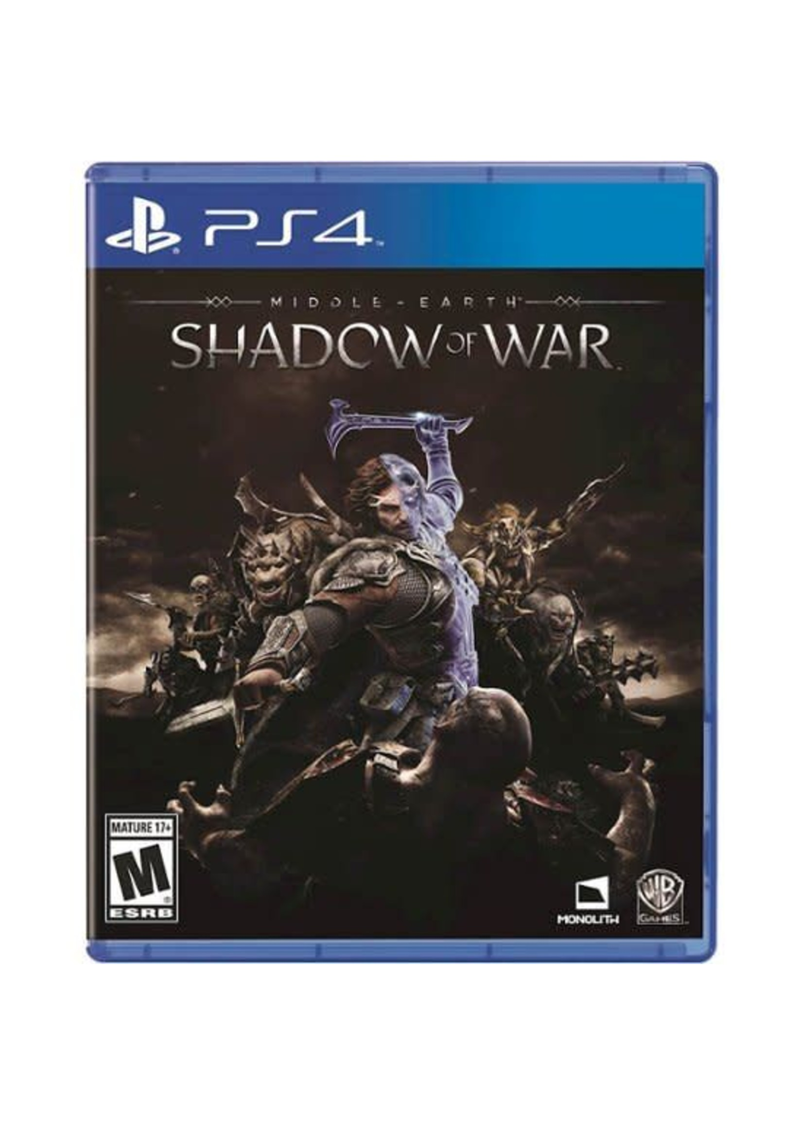Middle Earth Shadow of War - PS4 NEW
