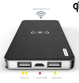 Wireless Charger plus Power Bank 16000 MAH