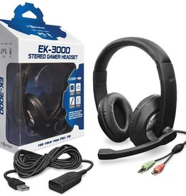 PS3 / PC Headset Wired USB TOMEE EK-3000