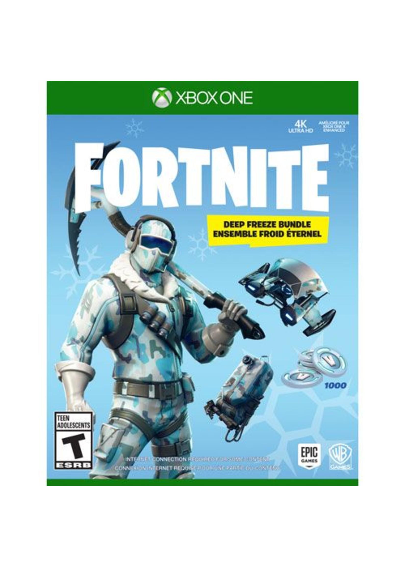 Fortnite Deep Freeze Bundle - XBOne NEW
