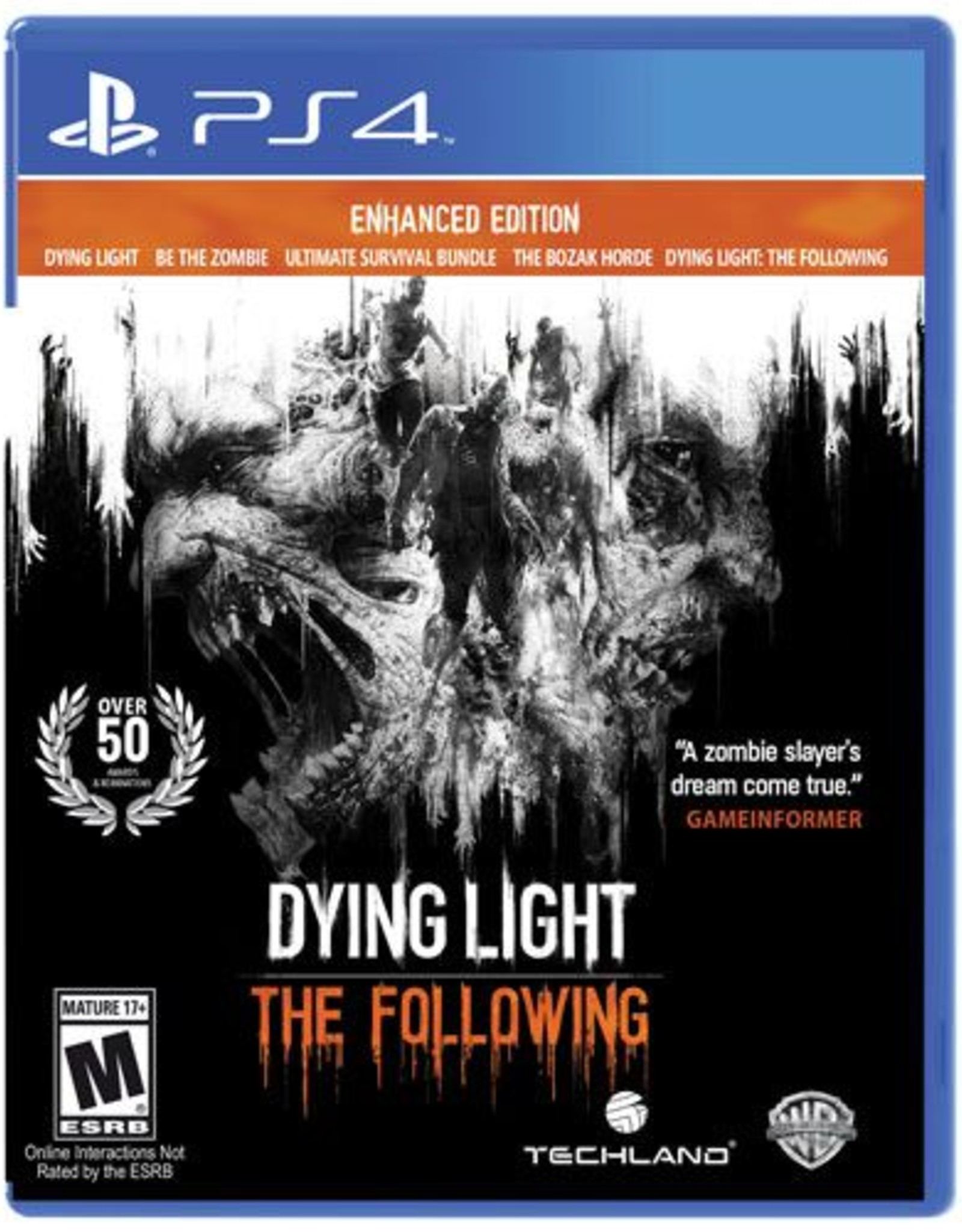 Dying Light The Following - PS4 PrePlayed