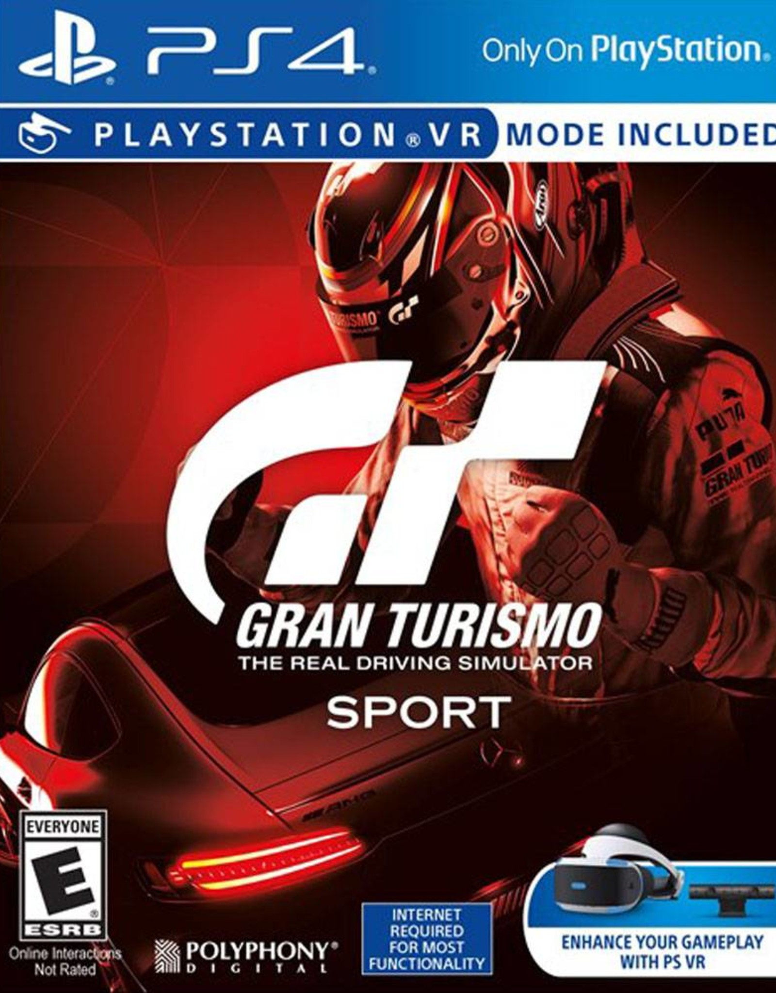 GT Sport (Sleeve Case) - PS4 PrePlayed