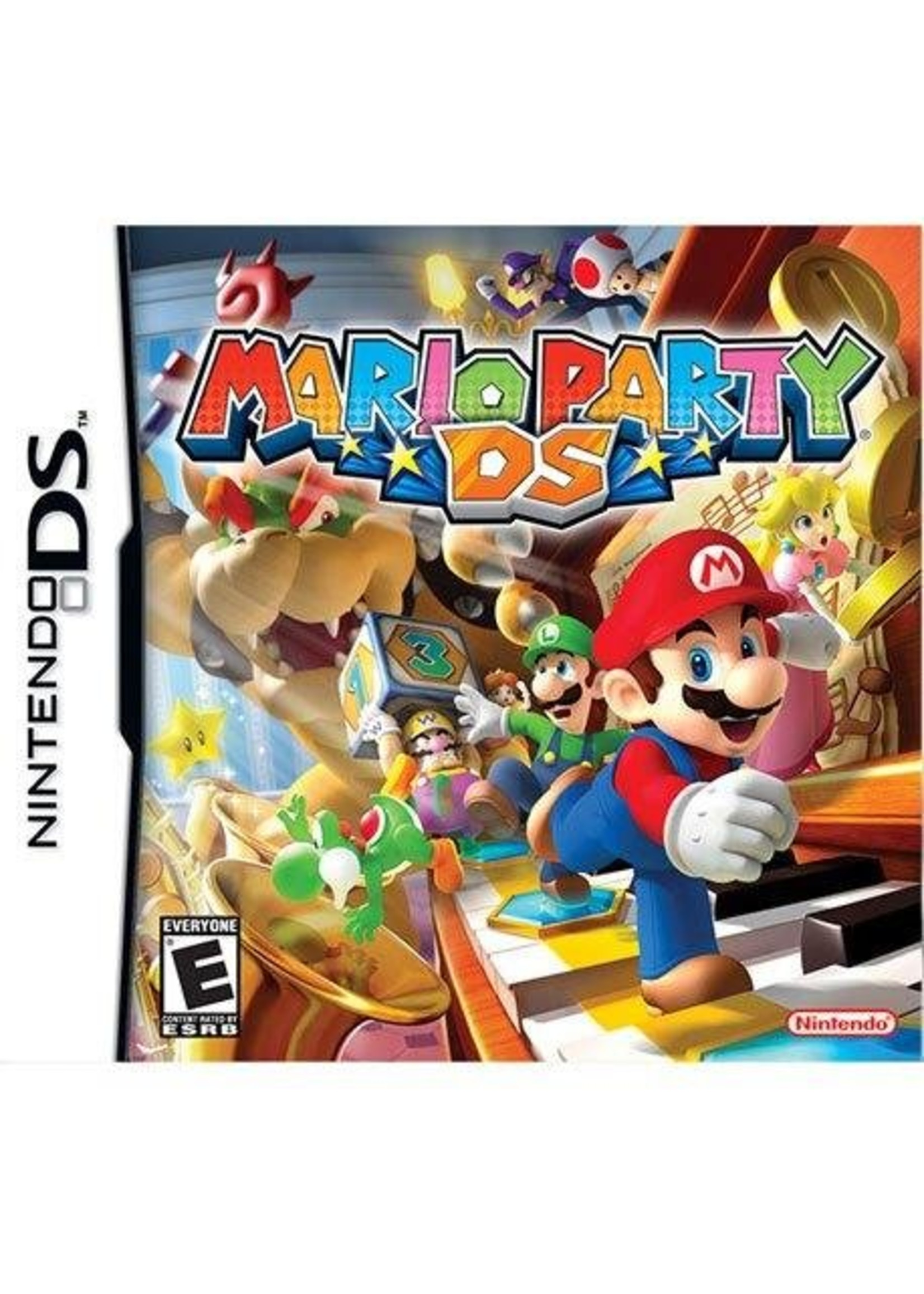 Mario Party - NDS PrePlayed