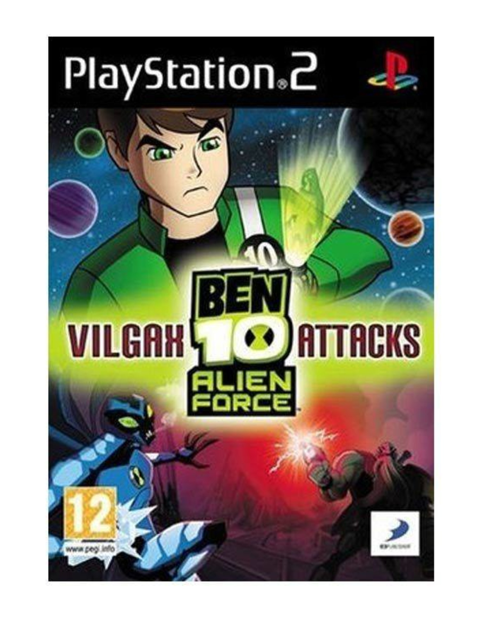 Ben 10: Vilgax Attacks - PS2 PrePlayed