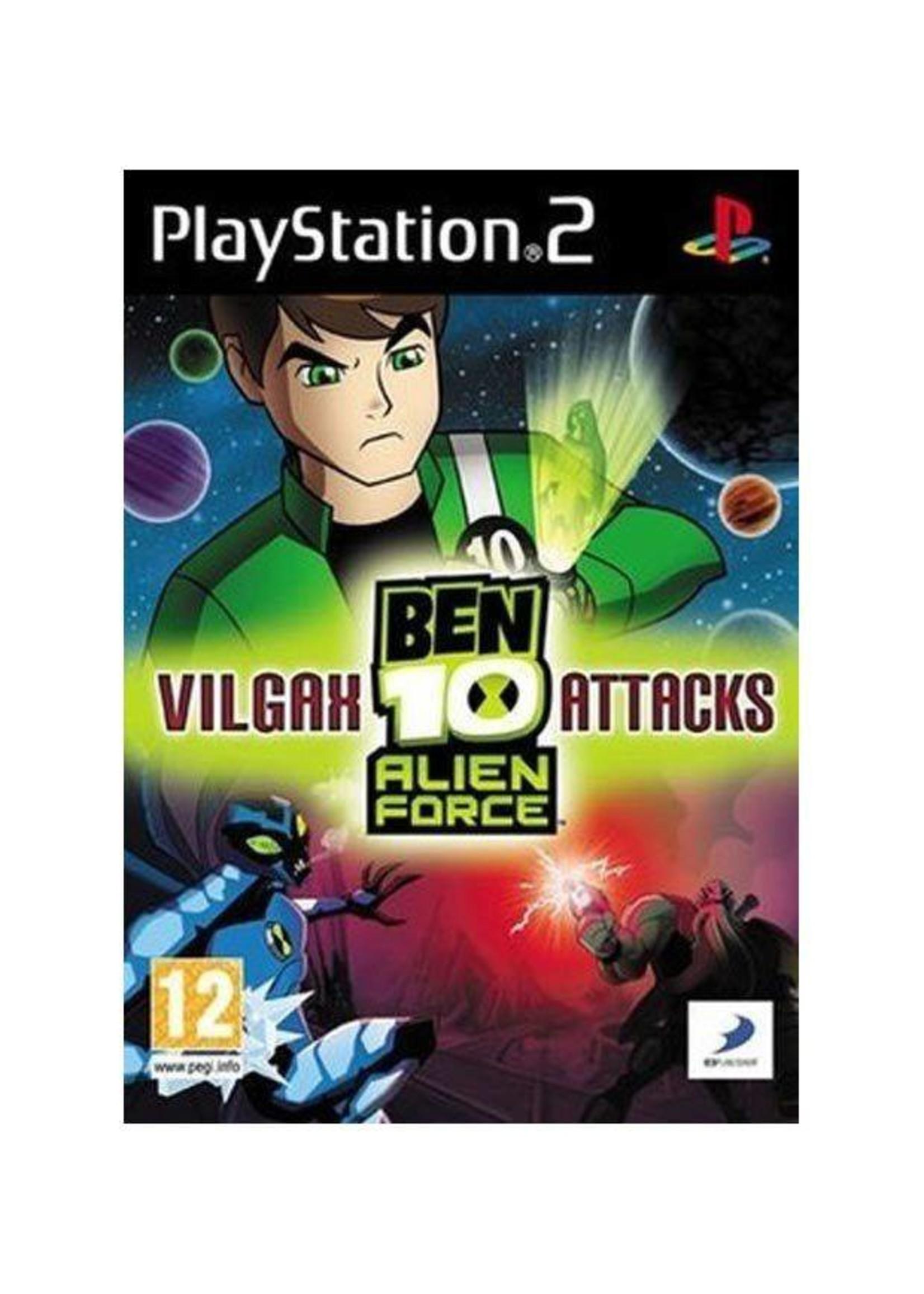 Ben 10: Vilgax Attacks - PS2 PrePlayed