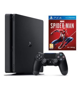 Sony Sony PS4 1TB Slim System Spiderman Bundle