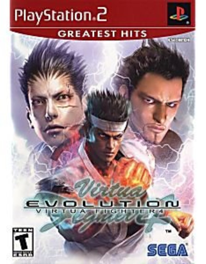 Virtua Fighter 4 Evolution - PS2 PrePlayed