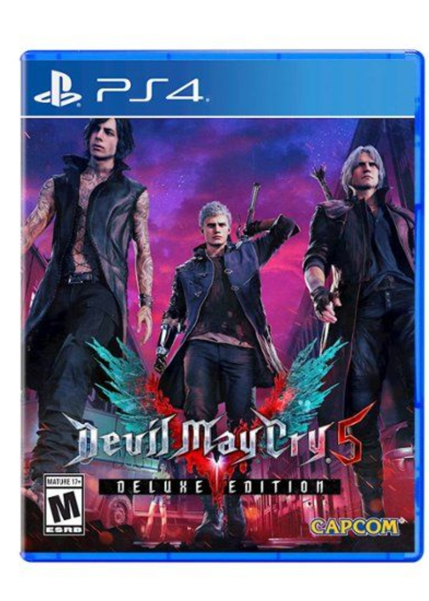 Devil May Cry 5 - PS4 NEW