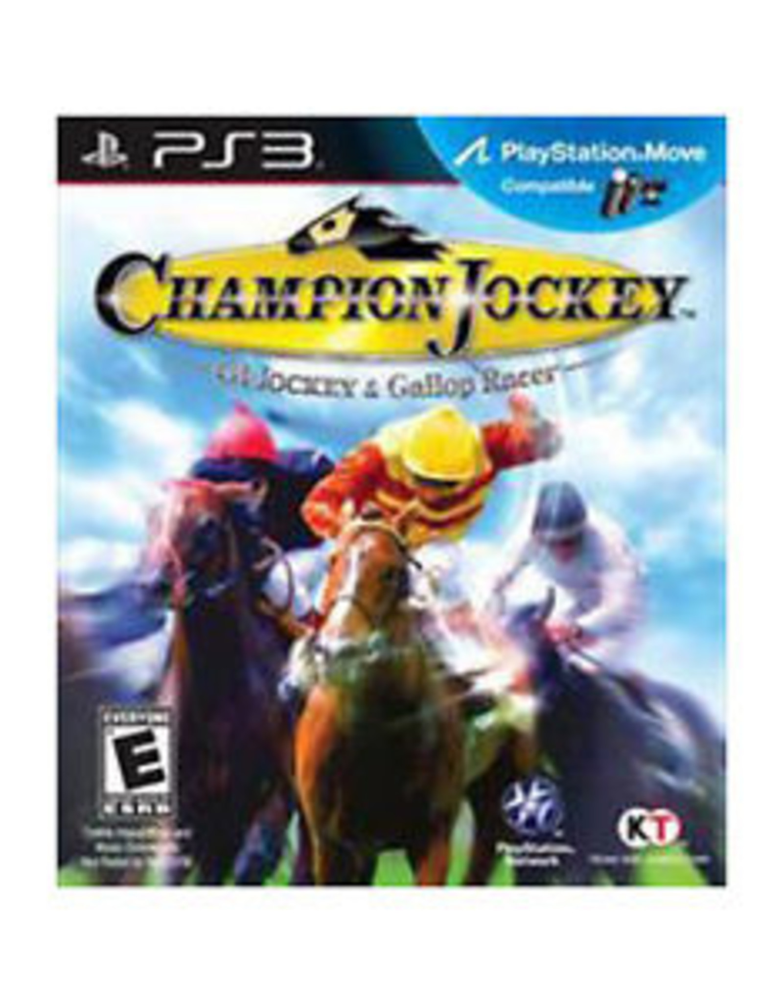 G1 Jockey and Gallop Racer - PS3 PrePlayed