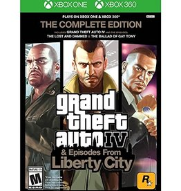 GTA Grand Theft Auto 4 Complete Edition - XB360 PrePlayed