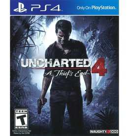 Uncharted 4: A Thief's End (Sleeve Case) - PS4 PrePlayed