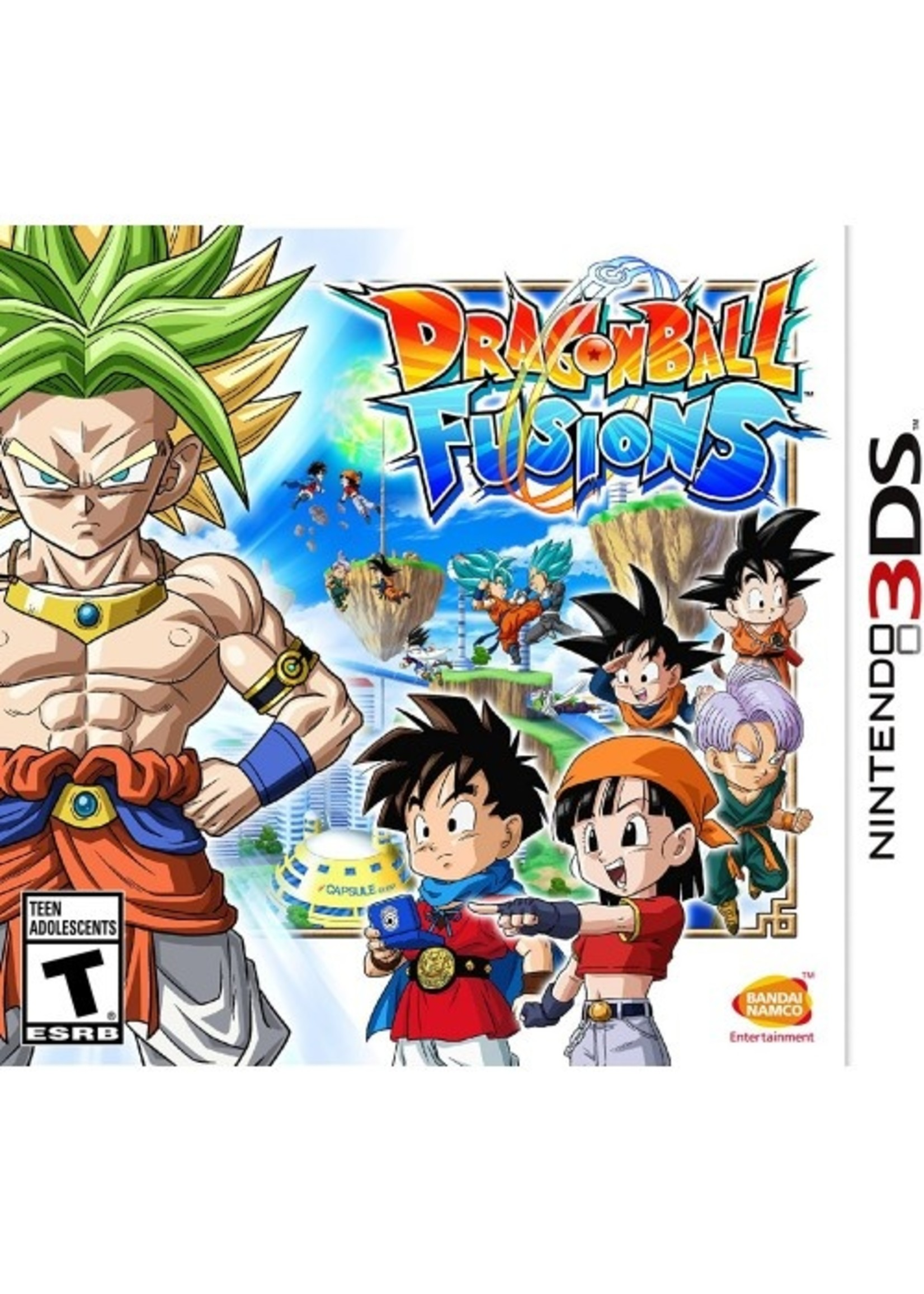 Dragon Ball Fusions - 3DS PrePlayed