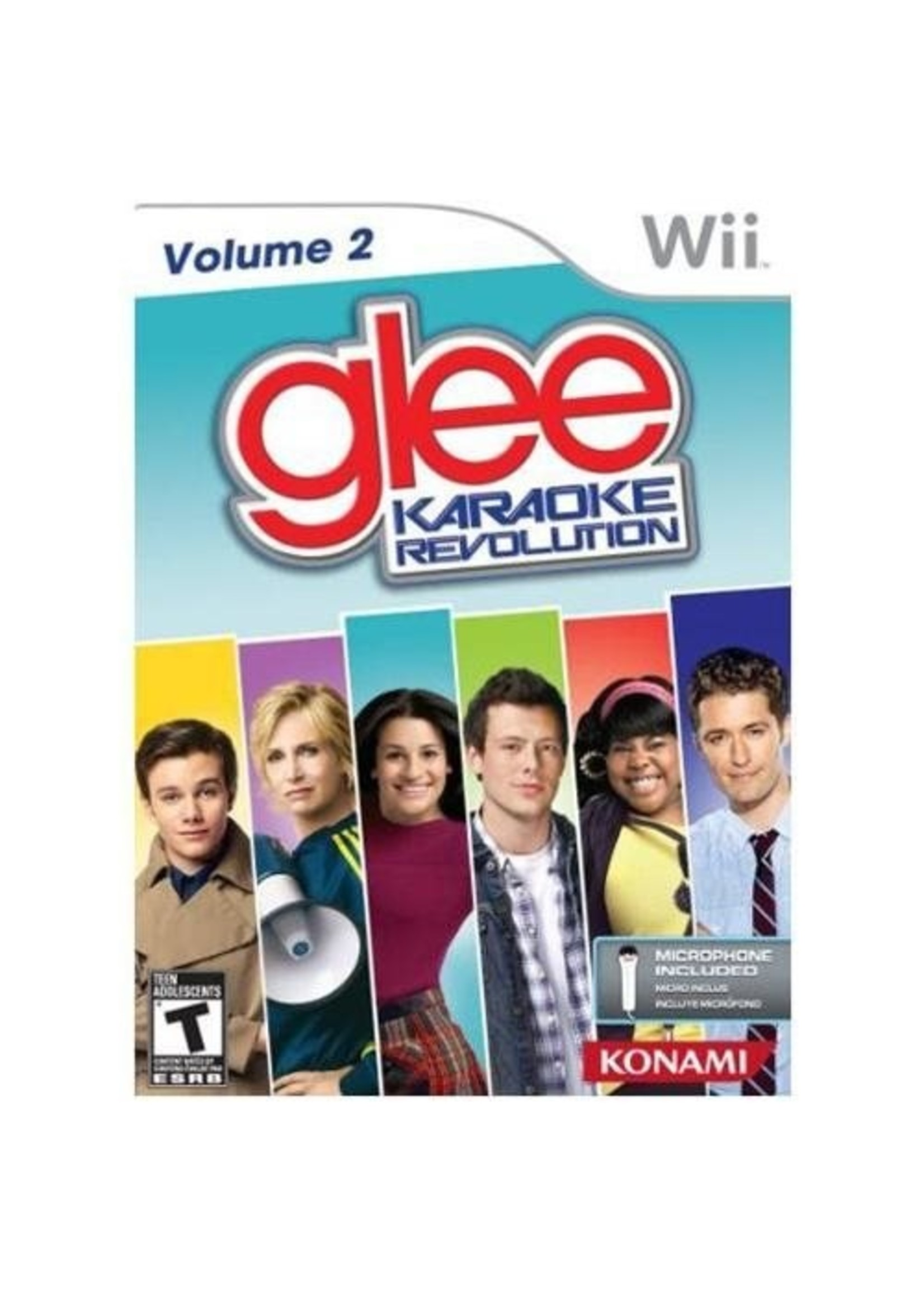 Glee Karaoke Revolution Vol. 2 - Wii PrePlayed