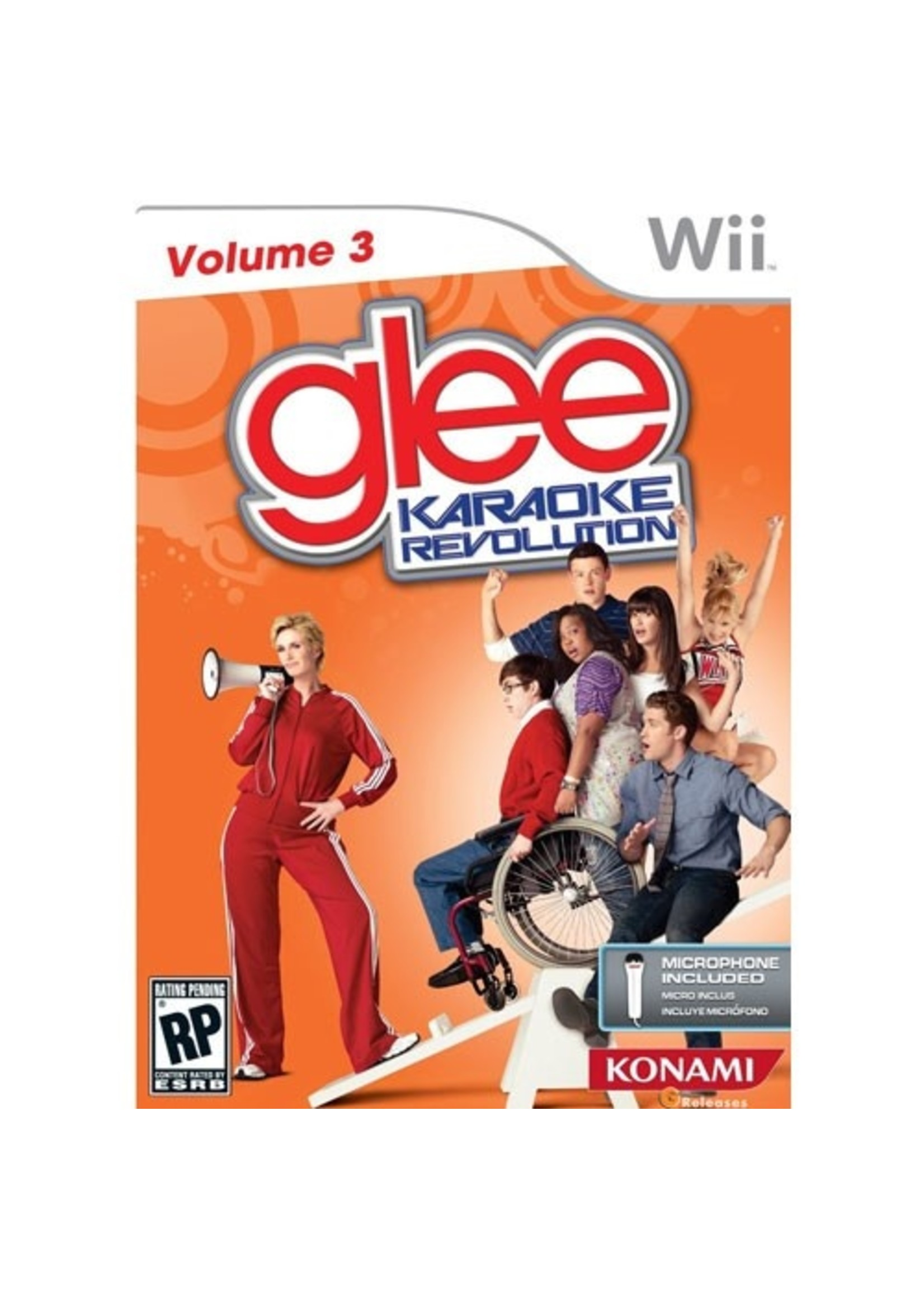 Glee Karaoke Revolution Vol. 3 - Wii PrePlayed