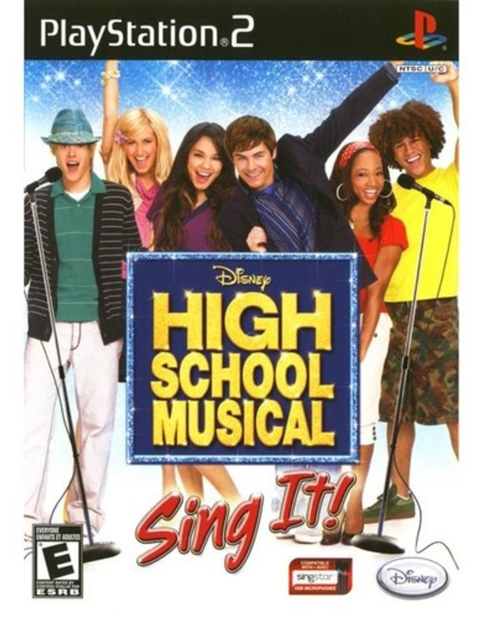 High School Musical Sing It - PS2 PrePlayed