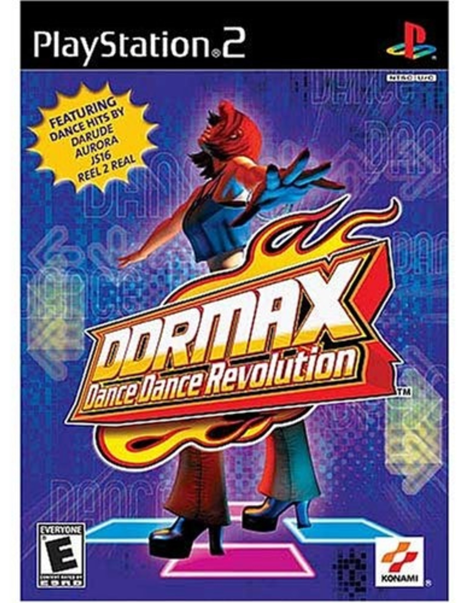 DDR MAX Dance Dance Revolution - PS2 PrePlayed