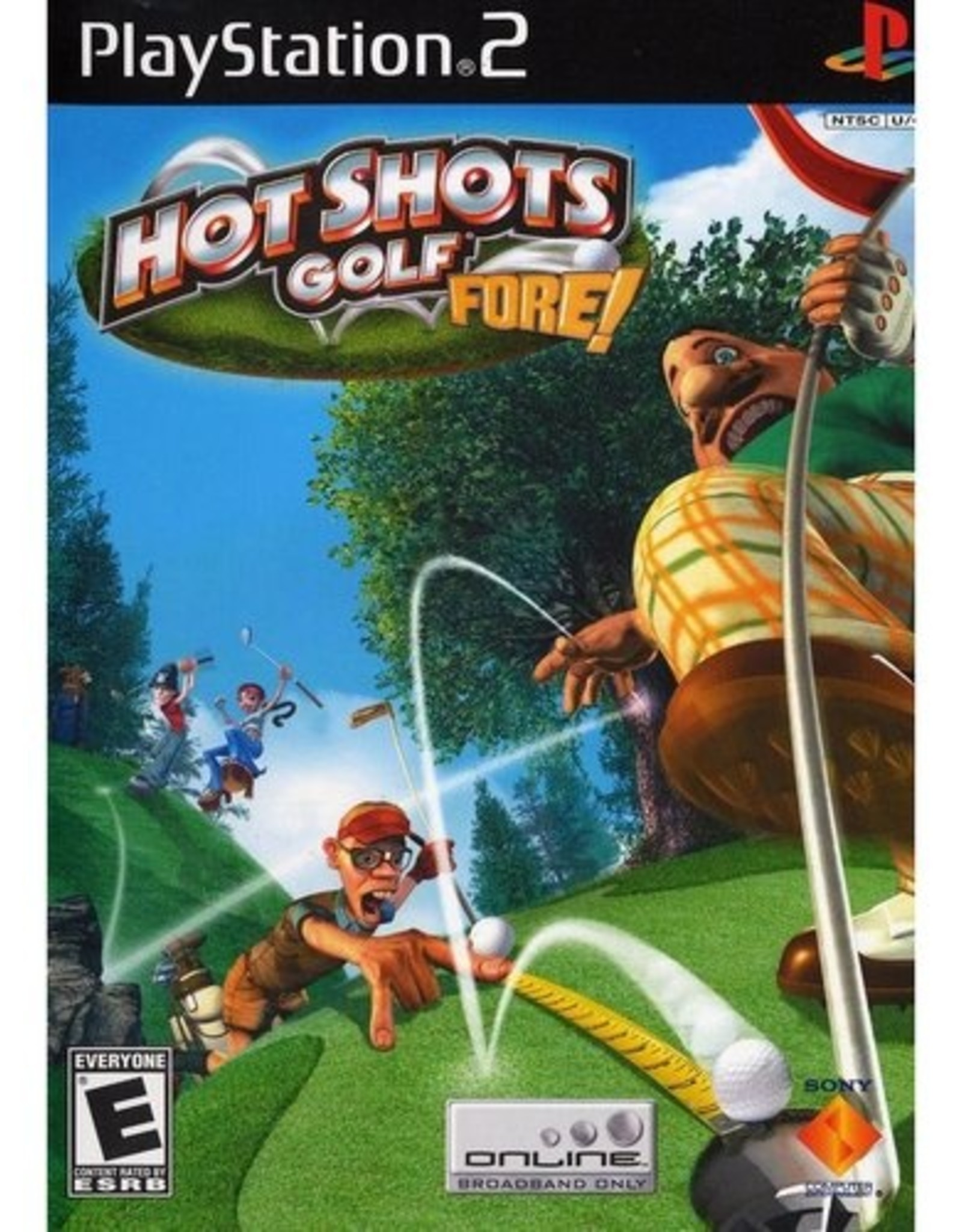 Hot Shots Golf 4 - PS2 PrePlayed