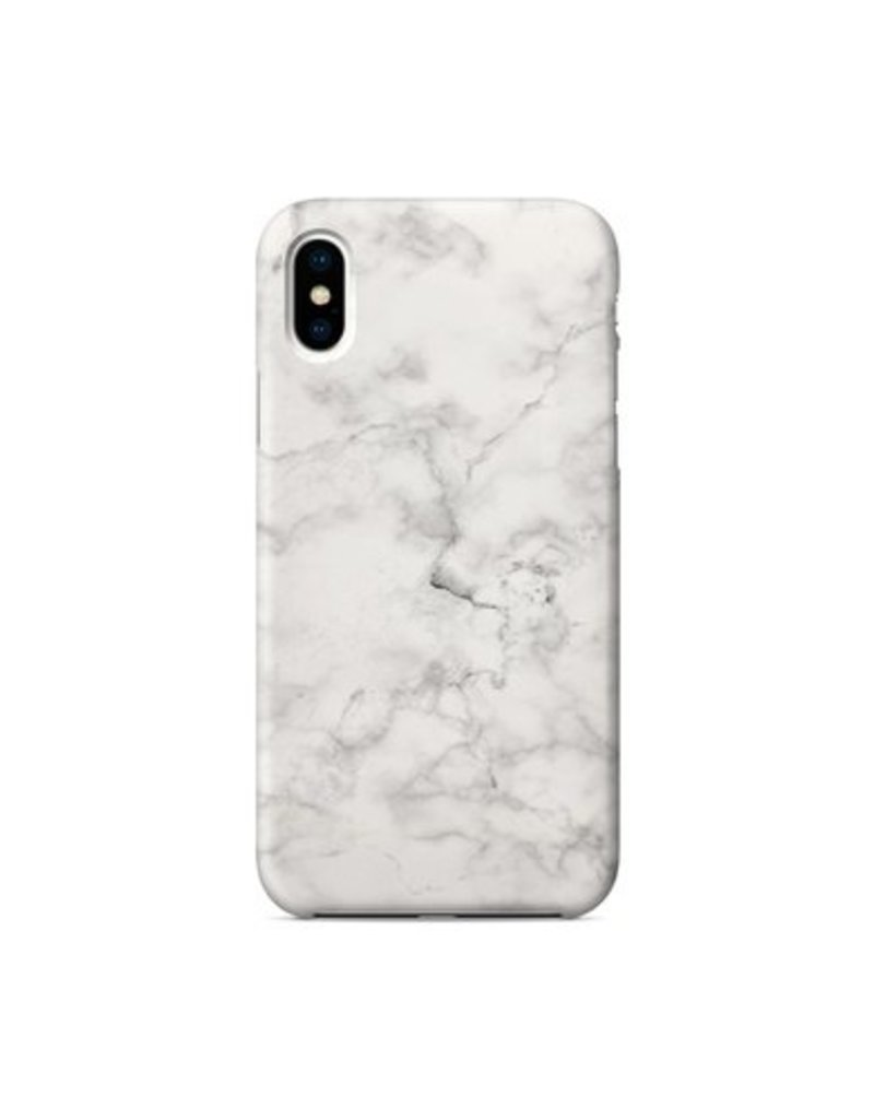 best website b9ecc de087 iPhone X Marble White Case
