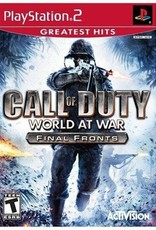 Call of Duty: World at War Final Fronts - PS2 PrePlayed