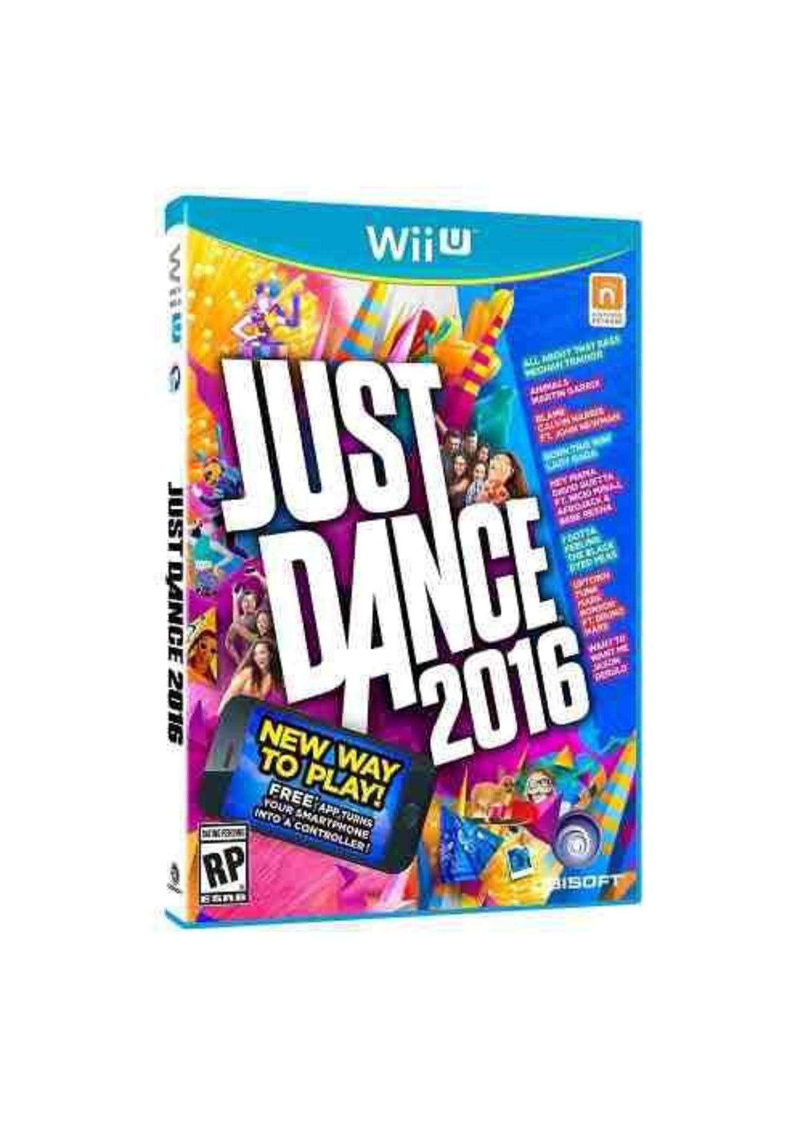 Just Dance 2016 - WiiU PrePlayed