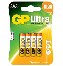 GP GP Alkaline AAA 4-Pk Battery