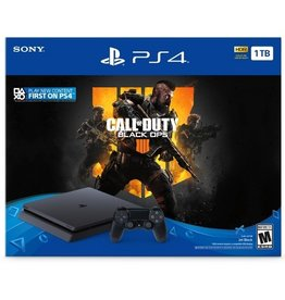 Sony Sony PS4 1TB Slim System Black Ops 4 Bundle